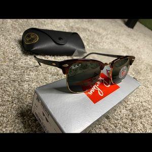 Rayban Club master Classic Sunglasses 0RB3016